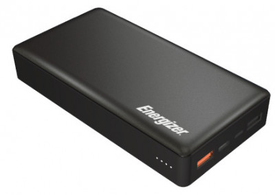 powerbank ENERGIZER UE20015CQ - 20000 mAh Li-pol+TYPE-C QC3.0 (Black)